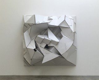 Florian_Baudrexel_abstract_cardboard_sculpture
