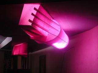 Florian Baudrexel, abstract light sculpture, 2005