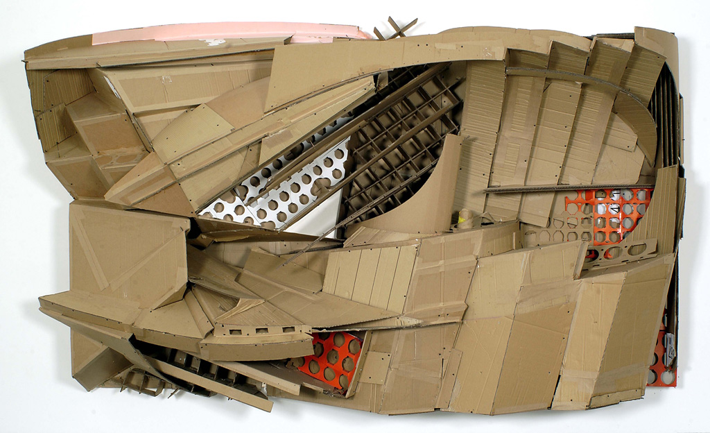 Florian_Baudrexel_forces_of_the_power_relief_cardboard
