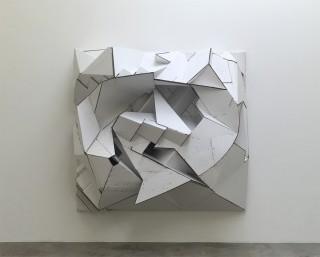Florian_Baudrexel_abstract_cardboard_sculpture