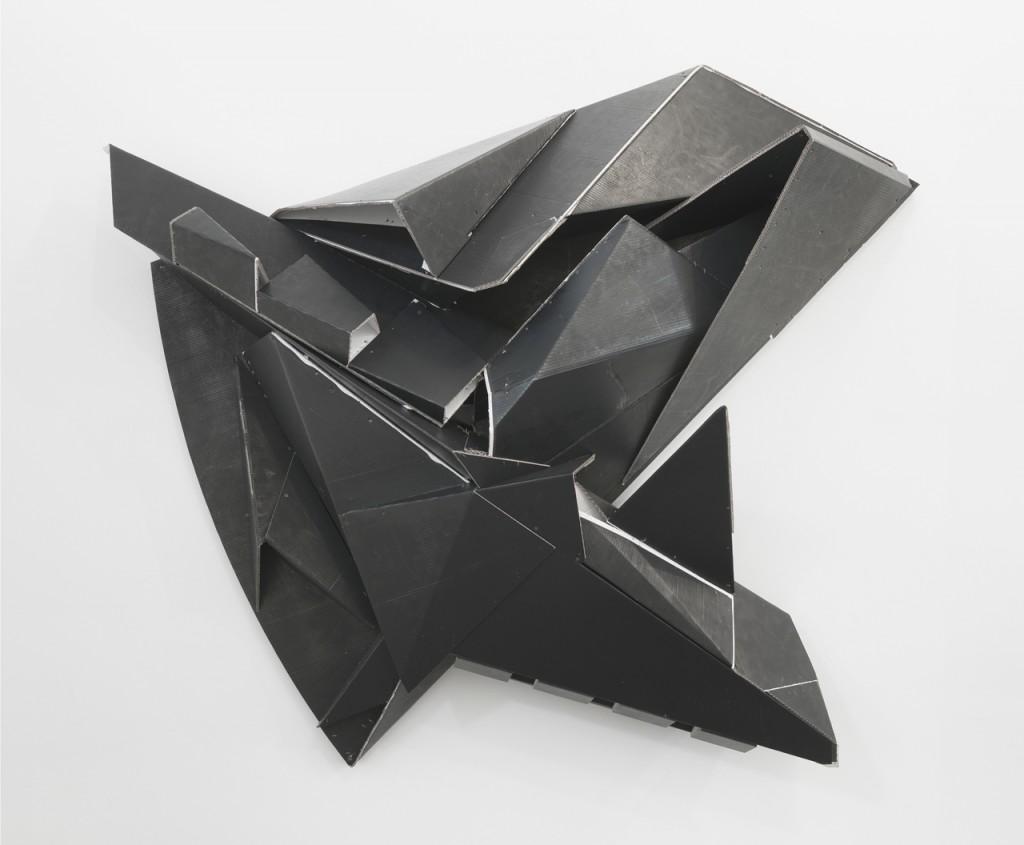 Florian Baudrexel - Dass, 2016 abtract cardboard sculpture