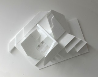 Florian Baudrexel abstract sculpture polystyrene
